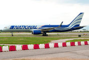 Rare visit of National Boeing 757 to Verona title=