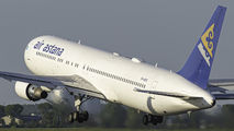 Air Astana Boeing 767 visited Amsterdam title=