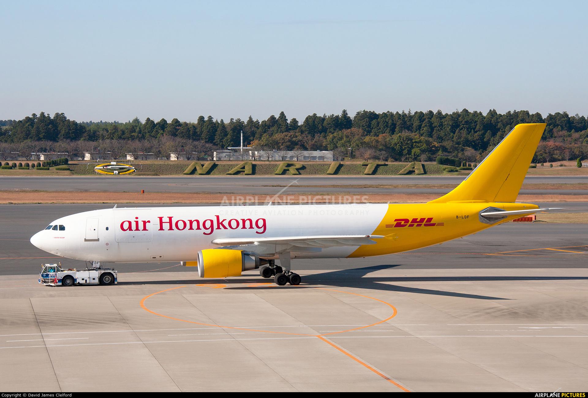 Air Hong Kong B-LDF aircraft at Tokyo - Narita Intl