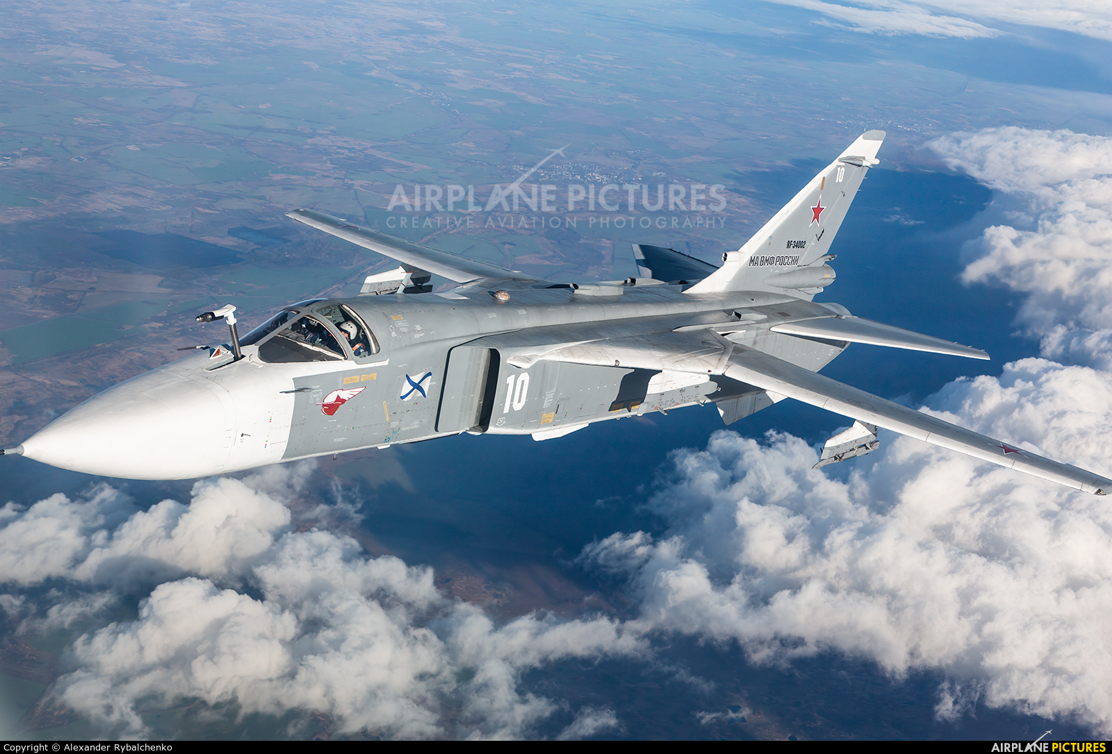 Russia - Navy RF-34002 aircraft at Undisclosed Location