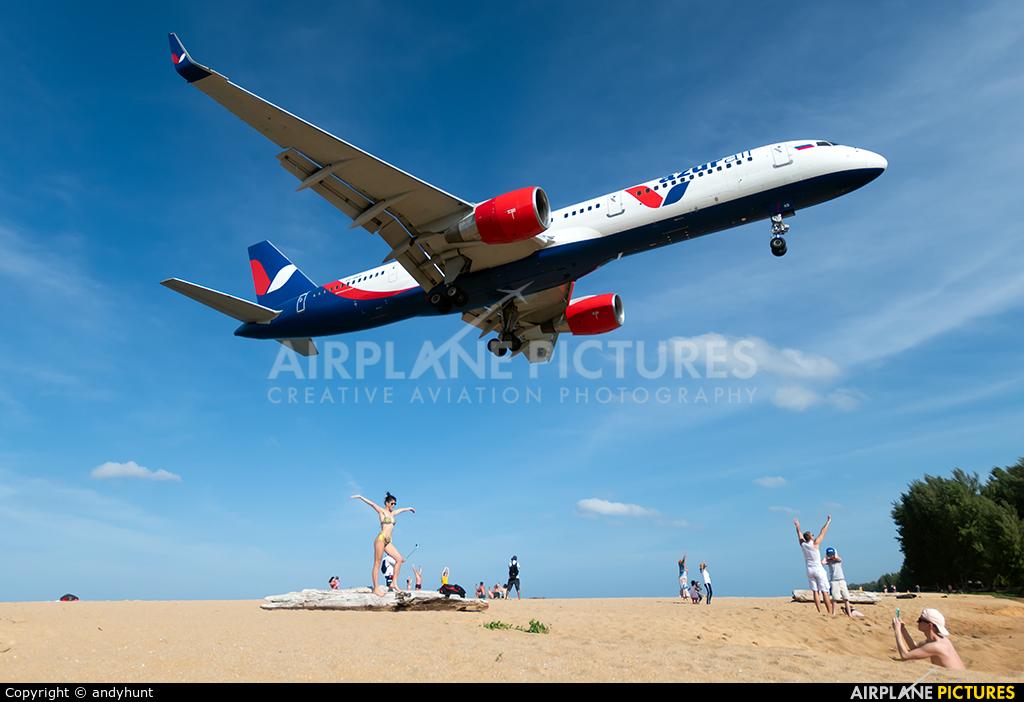 AzurAir VQ-BKB aircraft at Phuket