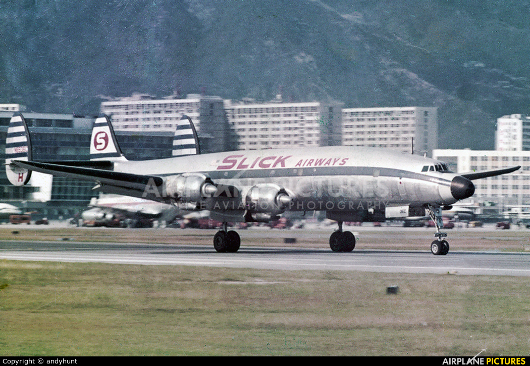 Slick Airways N6936C aircraft at HKG - Kai Tak Intl CLOSED