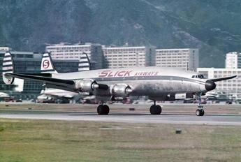 N6936C - Slick Airways Lockheed L-1049G Super Constellation