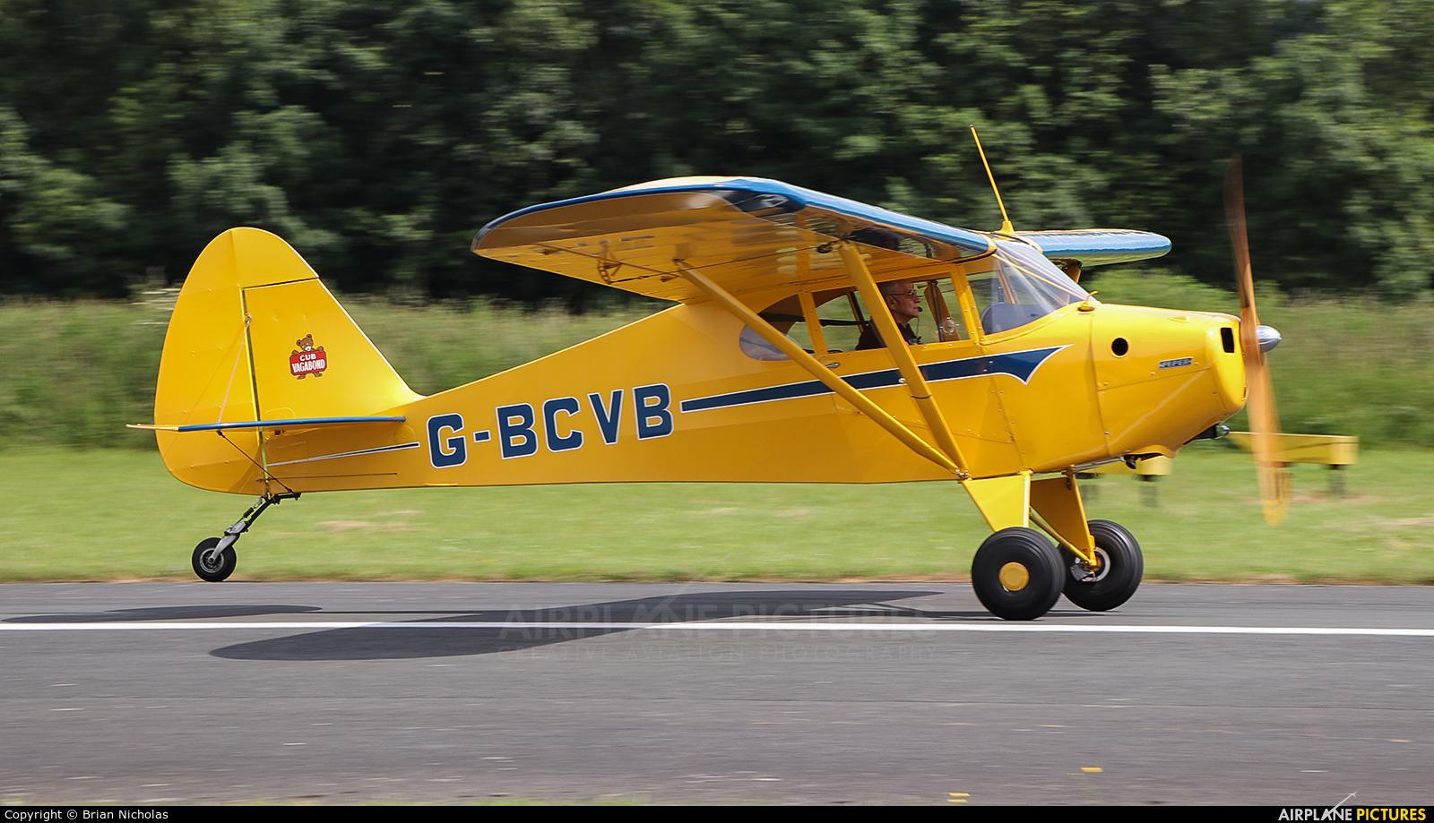 Private G-BCVB aircraft at Welshpool