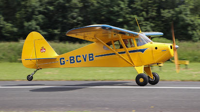 G-BCVB - Private Piper PA-17 Vagabond