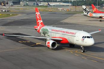 9M-AQD - AirAsia (Malaysia) Airbus A320