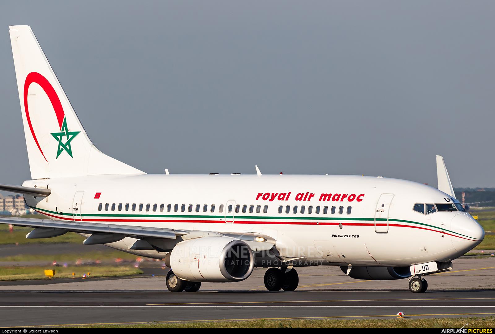 Royal Air Maroc CN-ROD aircraft at Frankfurt