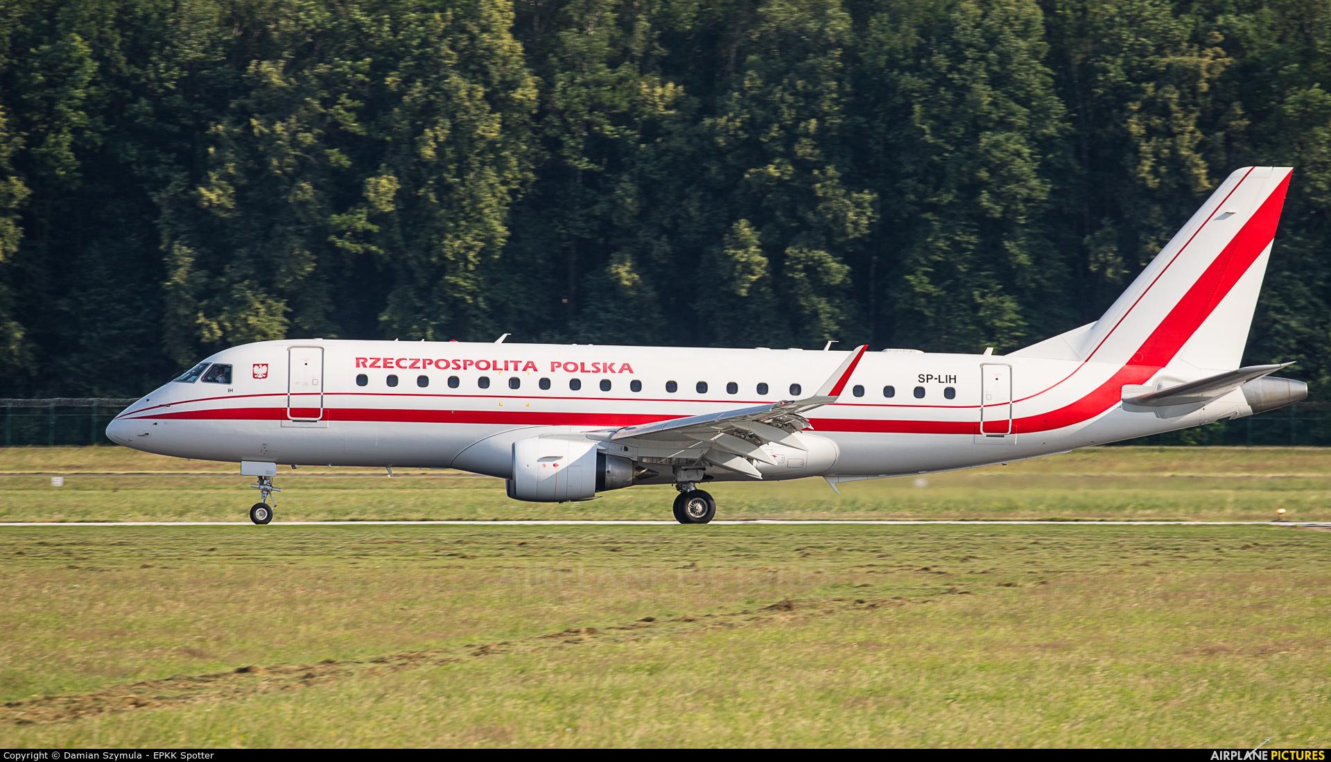 Poland - Government SP-LIH aircraft at Kraków - John Paul II Intl