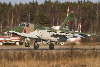 01 - Russia - Air Force Sukhoi Su-25SM3