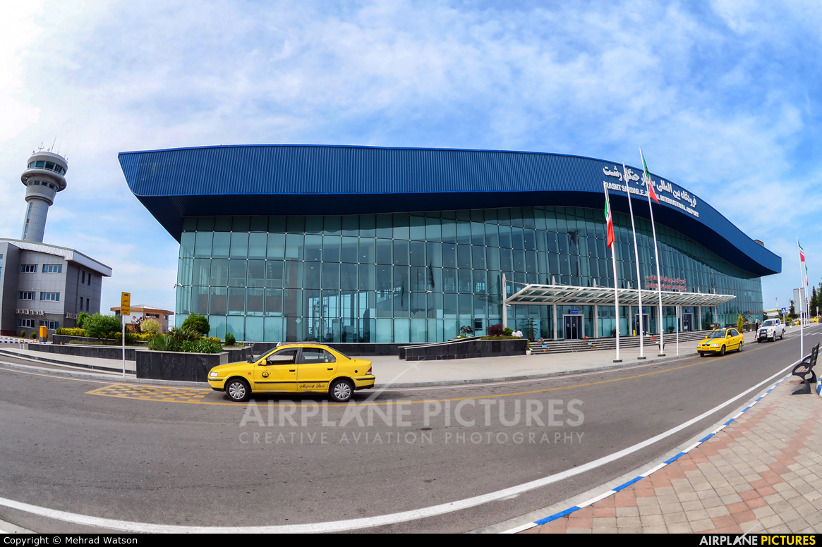 - Airport Overview - aircraft at Rasht Airport