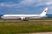 Bahrain Amiri Flight Boeing 767 visited Basel title=