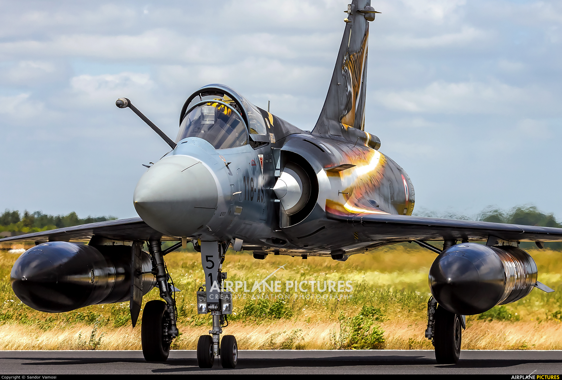 France - Air Force 51 aircraft at Schleswig-Jagel
