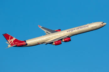 G-VFIT - Virgin Atlantic Airbus A340-600