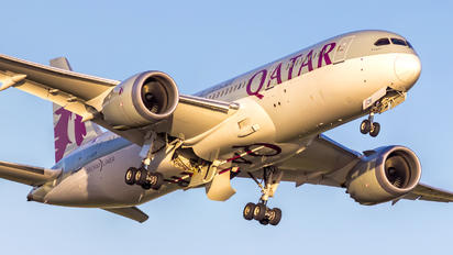 A7-BCR - Qatar Airways Boeing 787-8 Dreamliner