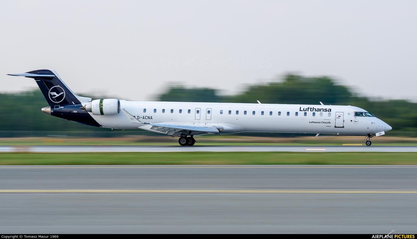 Lufthansa Regional - CityLine D-ACNA aircraft at Katowice - Pyrzowice