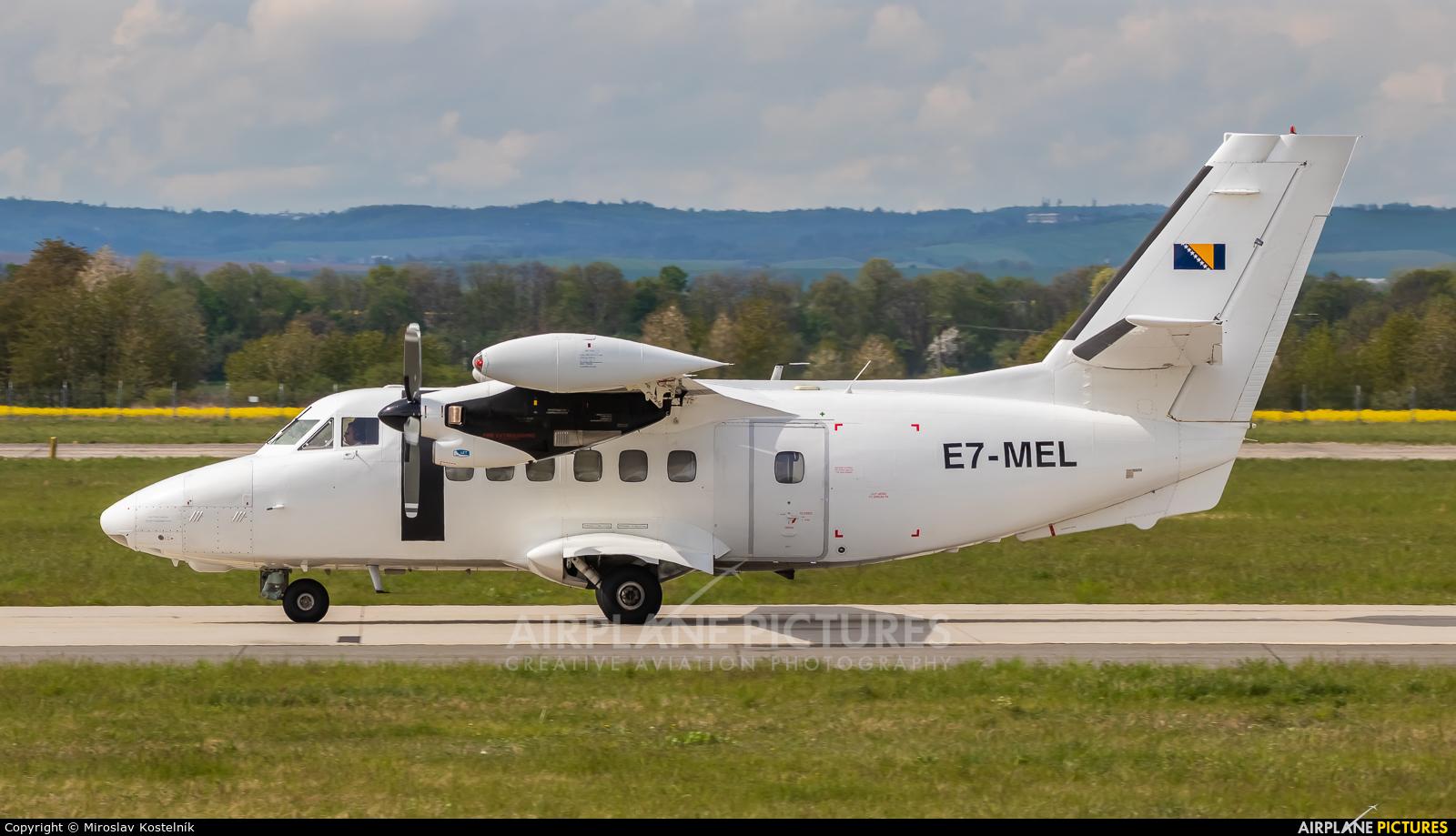 Icar Air E7-MEL aircraft at Ostrava Mošnov