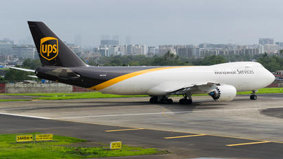 N614UP - UPS - United Parcel Service Boeing 747-8F