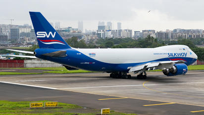 VQ-BBM - Silk Way Airlines Boeing 747-8F