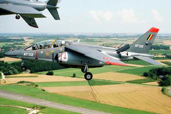AT02 - Belgium - Air Force Dassault - Dornier Alpha Jet 1B