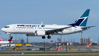 C-GXAX - WestJet Airlines Boeing 737-8 MAX