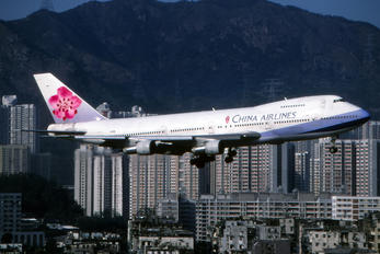 B-1866 - China Airlines Boeing 747-200