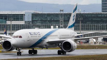 4X-EDJ - El Al Israel Airlines Boeing 787-9 Dreamliner