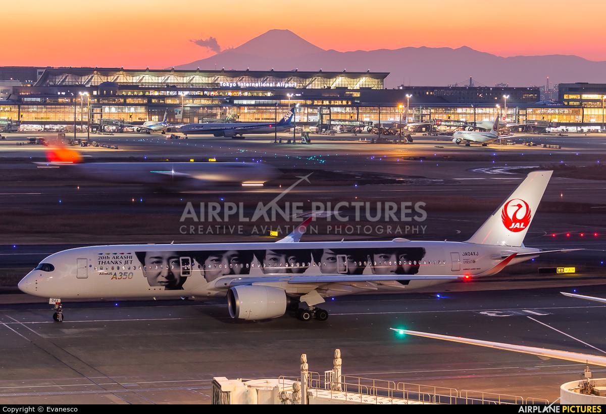JAL - Japan Airlines JA04XJ aircraft at Tokyo - Haneda Intl
