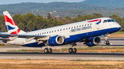 G-LCYO - British Airways - City Flyer Embraer ERJ-190 (190-100)
