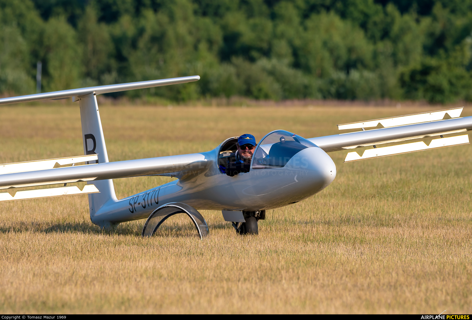 Aeroclub ROW SP-3170 aircraft at Rybnik - Gotartowice