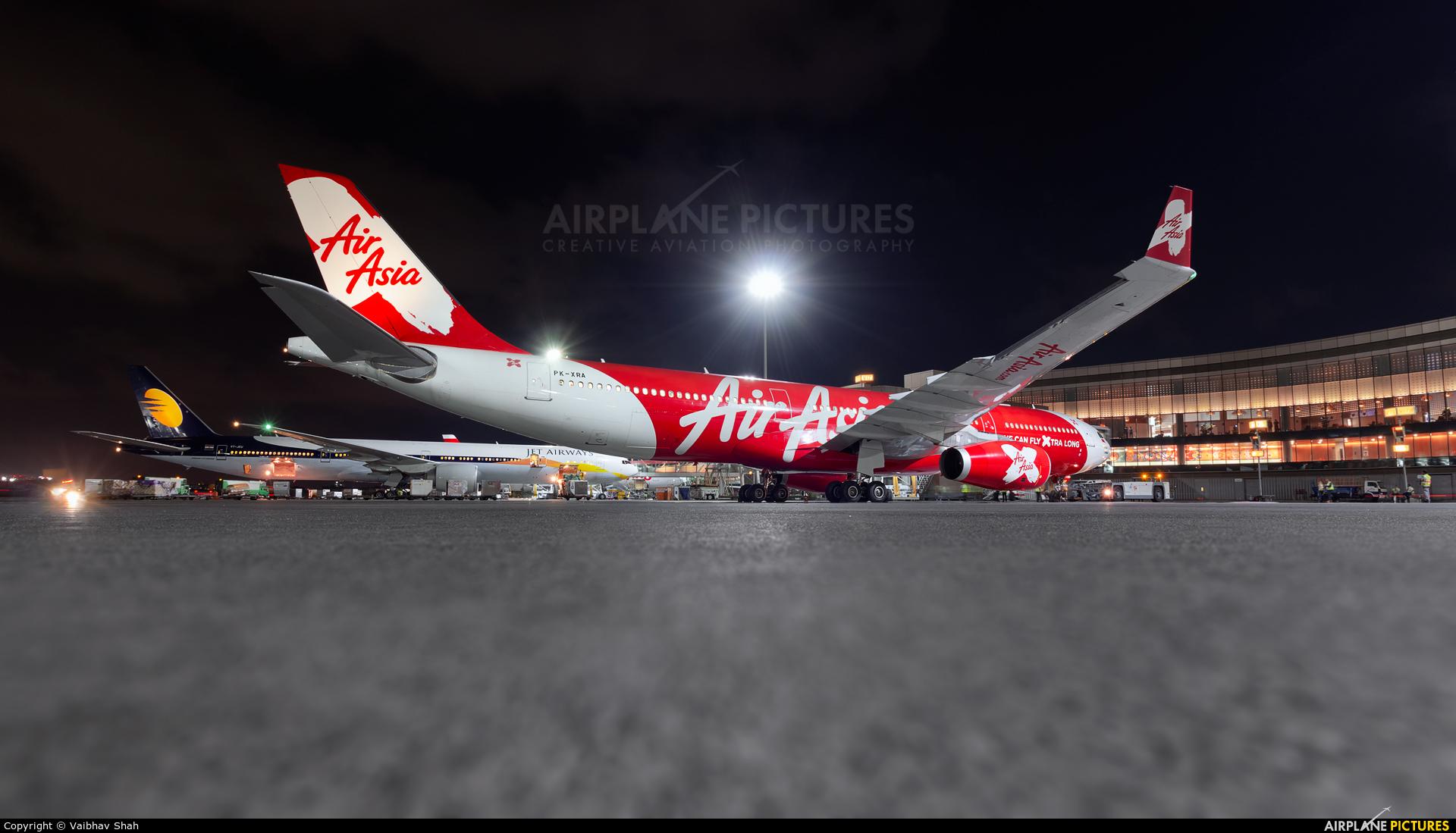 Indonesia AirAsia PK-XRA aircraft at Mumbai - Chhatrapati Shivaji Intl