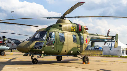 59 YELLOW - Russia - Air Force Kazan helicopters Ansat-U