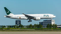 Pakistan International Airlines B777 visited Amsterdam title=
