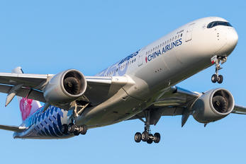 B-18918 - China Airlines Airbus A350-900
