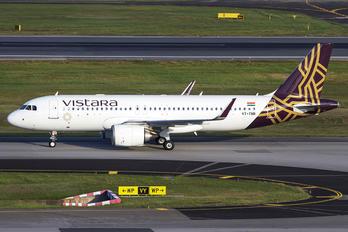VT-TNR - Vistara Airbus A320 NEO