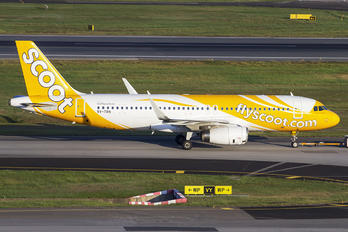 9V-TRN - Scoot Airbus A320