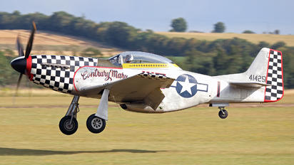 G-TFSI - Anglia Aircraft Restorations Ltd North American TF-51D Mustang