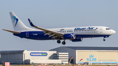 YR-BMN - Blue Air Boeing 737-800