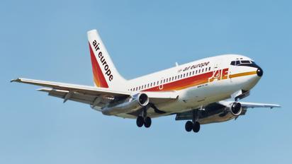 G-BRJP - Air Europe Boeing 737-200