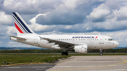 F-GUGE - Air France Airbus A318