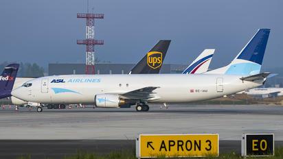 OE-IAU - ASL Airlines Belgium Boeing 737-400SF