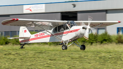 HB-ORH - Private Piper PA-18 Super Cub