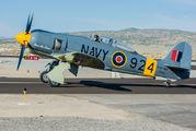 N924G - Private Hawker Sea Fury T.20 aircraft