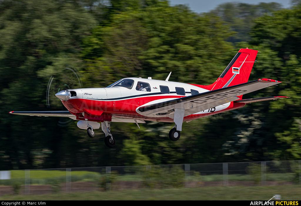 Private D-EPIB aircraft at Augsburg