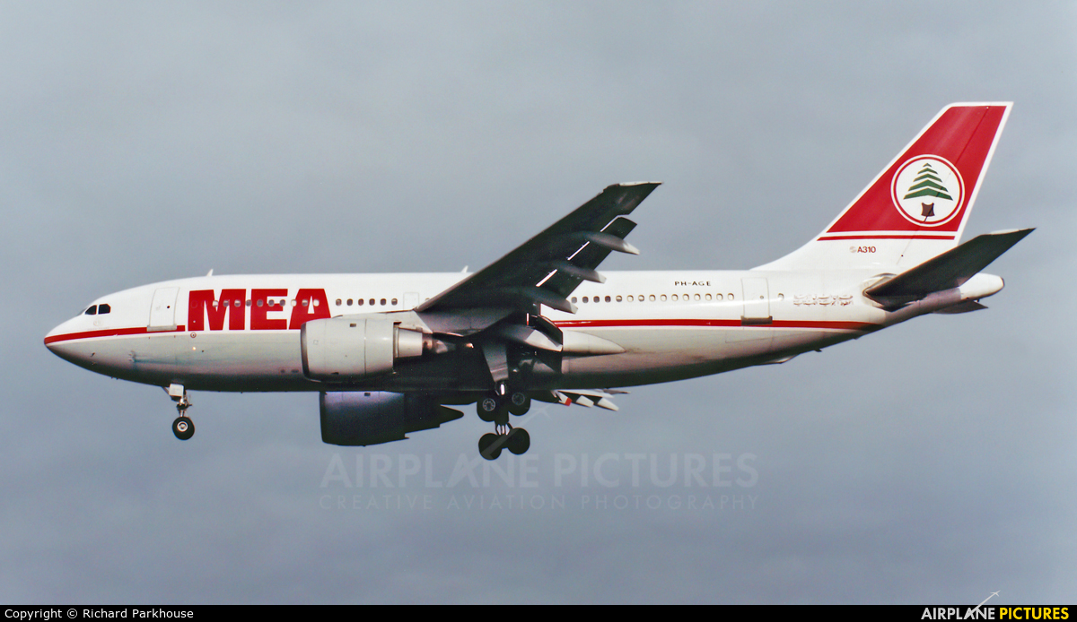 MEA - Middle East Airlines PH-AGE aircraft at London - Heathrow