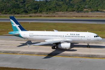 9V-SLO - SilkAir Airbus A320