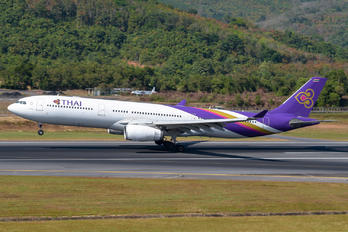 HS-TER - Thai Airways Airbus A330-300