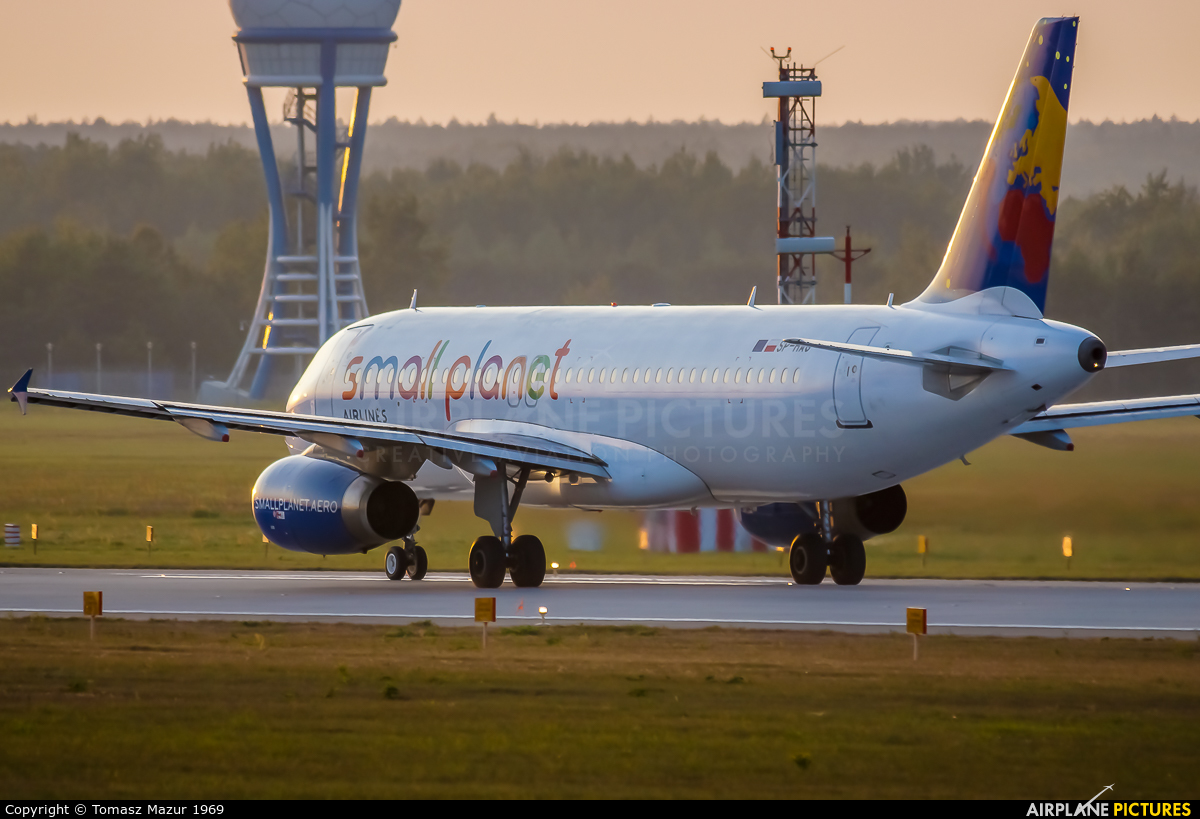 Small Planet Airlines SP-HAG aircraft at Katowice - Pyrzowice