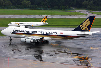 9V-SFL - Singapore Airlines Cargo Boeing 747-400F, ERF