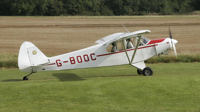 G-BOOC - Private Piper PA-18 Super Cub