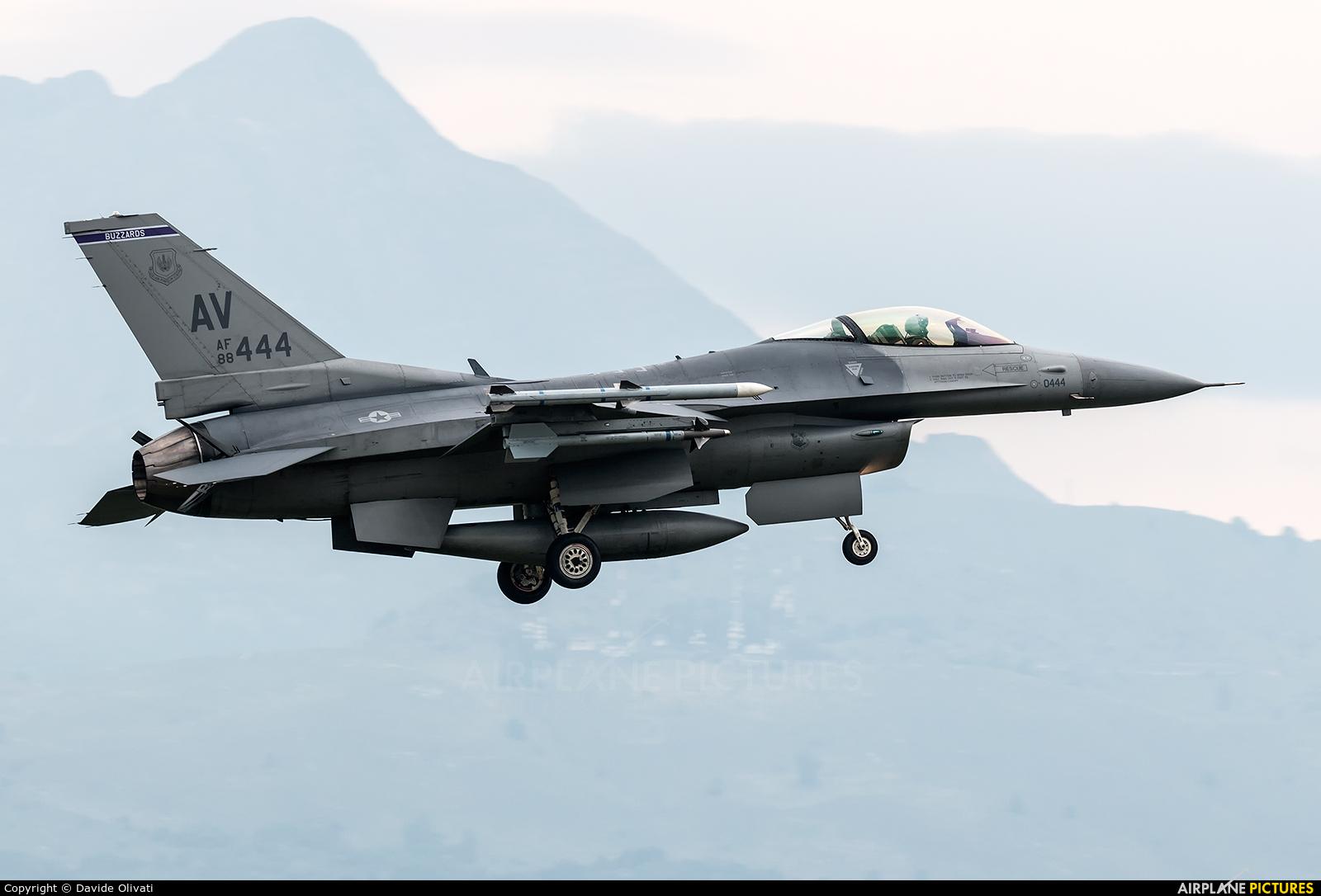 USA - Air Force 88-0444 aircraft at Aviano